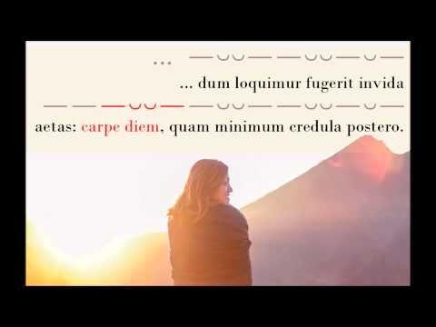 Carpe diem - Horace Car. 1.11 - YouTube