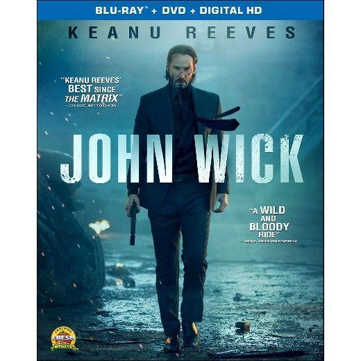 John Wick Blu Ray Dvd Digital Keanu Reeves John Wick Movie Movies Online