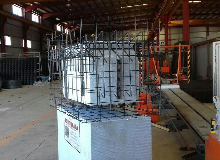 Ειδική κατασκευή σιδήρου για την εγκατάσταση οπτικών ινών