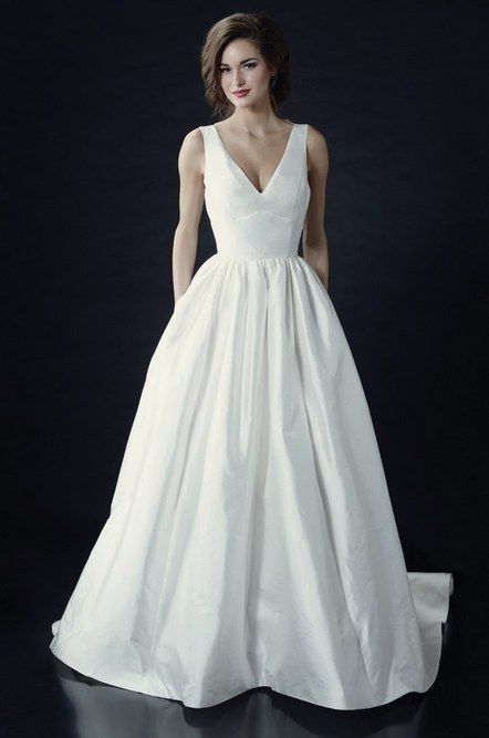 36 vestidos minimalistas de tirar o fôlego | Casar é um barato