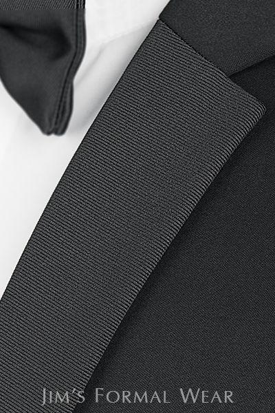 Asheville Tuxedo by Mitchell's - 'Berkeley' - Slim Fit - Michael Kors - Grosgrain Lapel - Black
