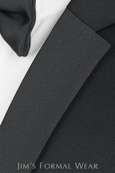 Asheville Tuxedo by Mitchell's - 'Berkeley' - Slim Fit - Michael Kors - Grosgrain Lapel - Black