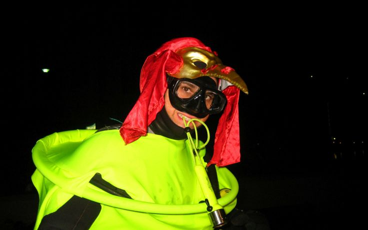 Halloween night dives