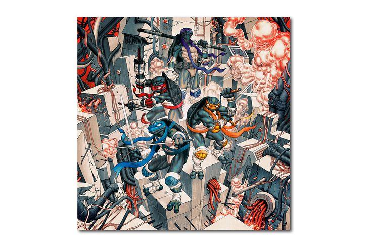 James Jean x Teenage Mutant Ninja Turtles Collaboration | HYPEBEAST