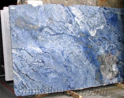 Blue Bahia Granite slabs--countertops