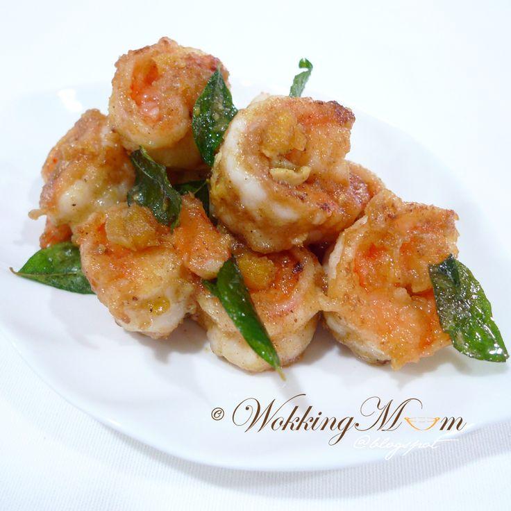 460 best cooking ideas images on pinterest korean food recipes golden sand prawn singapore food blog on forumfinder Images
