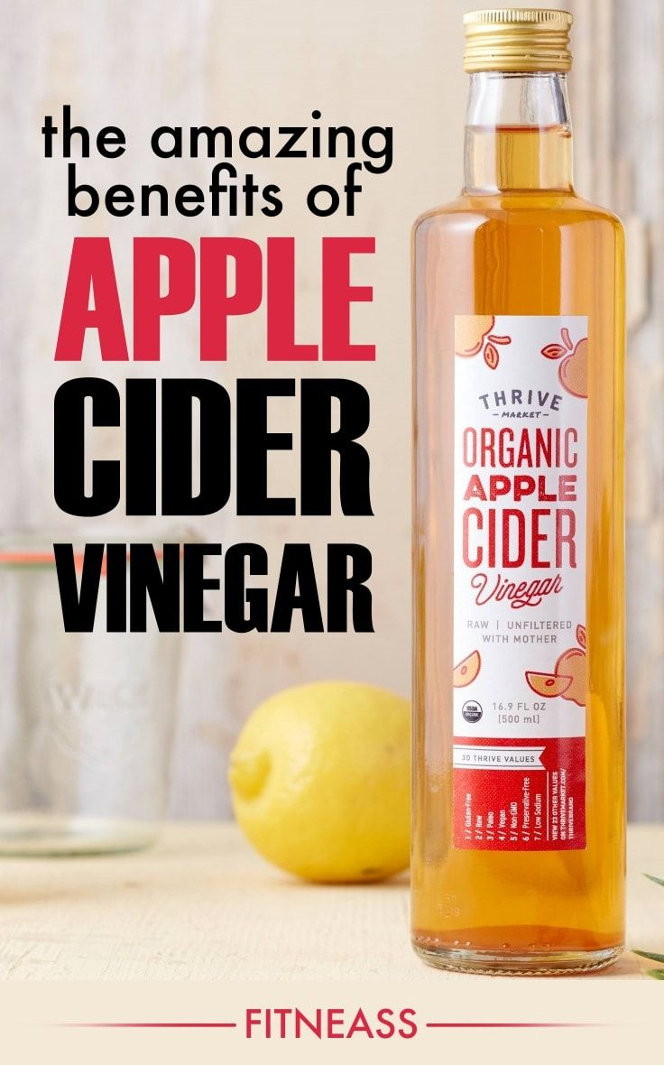 10 Amazing Benefits Of Apple Cider Vinegar For Health And Beauty