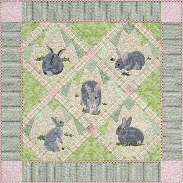 Google Image Result For Http 30: 30 Best Images About Rabbit Quilts On Pinterest