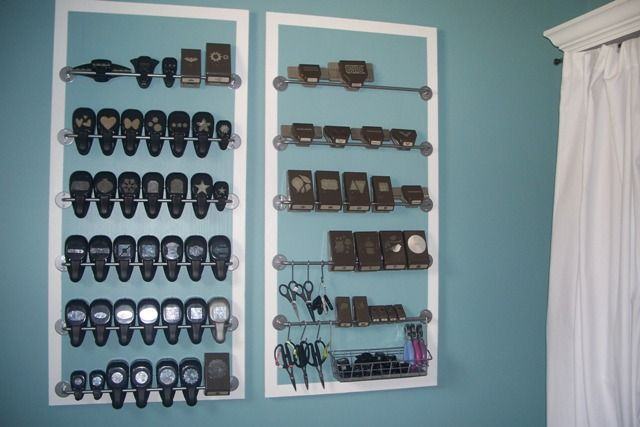 Punch Storage: Would be great on wall behind my room's door (by lizzier - Cards and Paper Crafts at Splitcoaststampers)