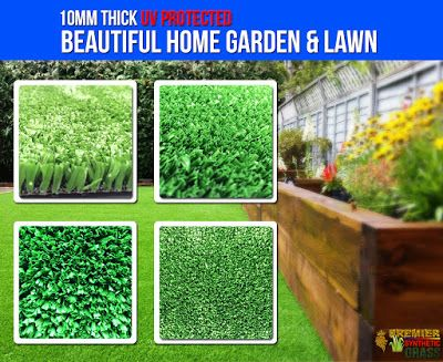 Beautiful Synthetic Lawn : Beautiful Synthetic Garden & Lawn UV Protected  cl...