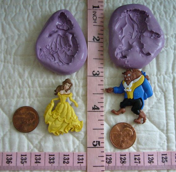 Story Book Princess set inspired Silicone by MoldCreationsNmore