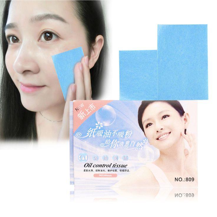 Free Shipping 50Pcs Paper Pulp Random Facial Oil Control Absorption Film Tissue Makeup Blotting Paper MRJK26