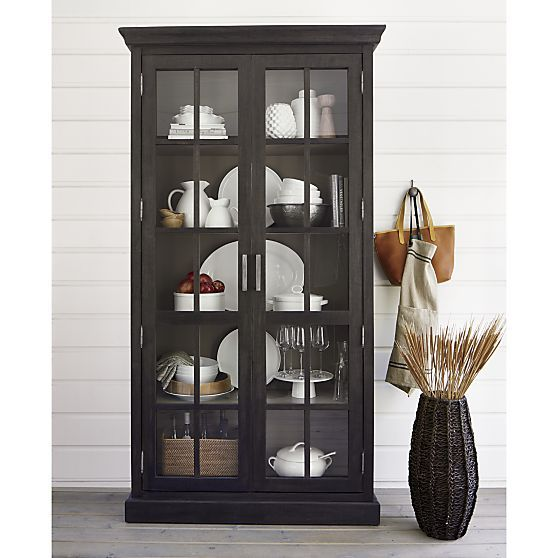 25 best ideas about crockery cabinet on pinterest asian for Wooden showcase designs for dining room