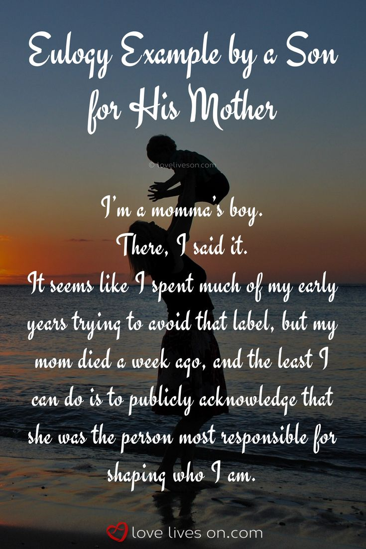 48 best eulogy examples images on pinterest