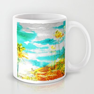 Hanauma Bay I Mug by The Digital Weaver - $15.00