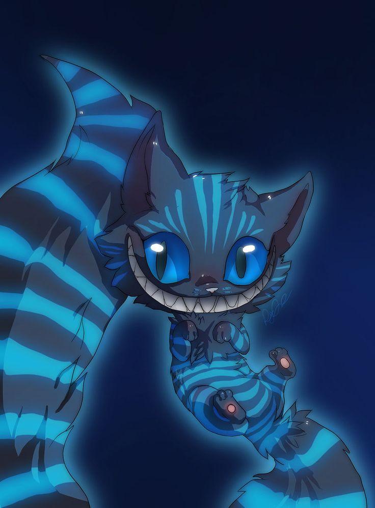 Cheshire Cat Art | cheshire cat by poketix fan art digital art drawings movies tv 2011 ...