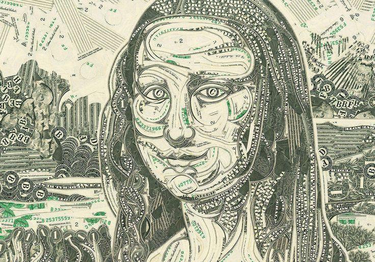 """Quando uma pessoagasta muito, sem pensar, costumamos nos referir à ela como alguém que """"rasga dinheiro"""". Mark Wagner faz algo parecido: corta dinheiro.     Mais específicamente, notas de 1 dólar, que assim em tirinhas e pedacinhos mínim..."""