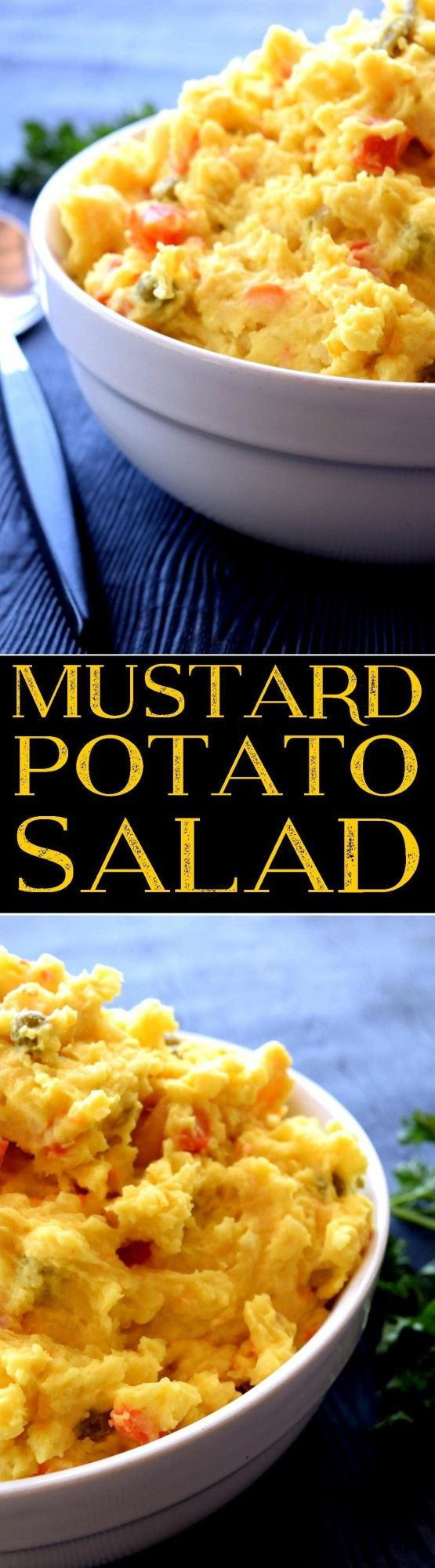Mustard Potato Salad - Lord Byron's Kitchen