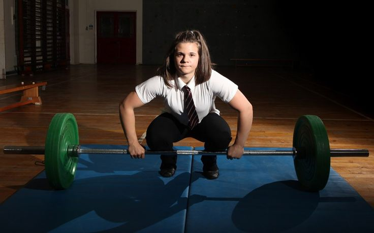 Meet Rebekah Tiler, Britains strongest schoolgirl who can lift almost 20 stone. The mighty teenager can heave a colossal 123kg over her head and has broken over 200 weightlifting records - most of them her own - and she's still only 15 years old. The British weightlifting champion from Denham, Yorkshire has been lifting since she was 12 years old and can outlift competitors almost twice her age. Rebekah, a former sprint runner, won gold in a record breaking performance.