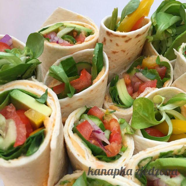 kanapka zjedzona: Warzywne zawijasy