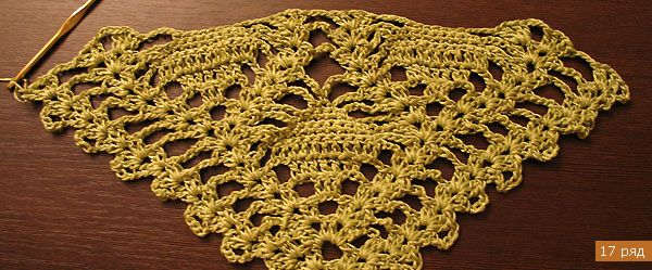 Shawl of green gold: Elegant Crochet, Flower Shawl, Crochet Flower, Free Crochet, Vest Ponchos Boleros Ect, Crochet Vest Ponchos Boleros, Crochet Wraps, Crochet Patterns, Crochet Shawl