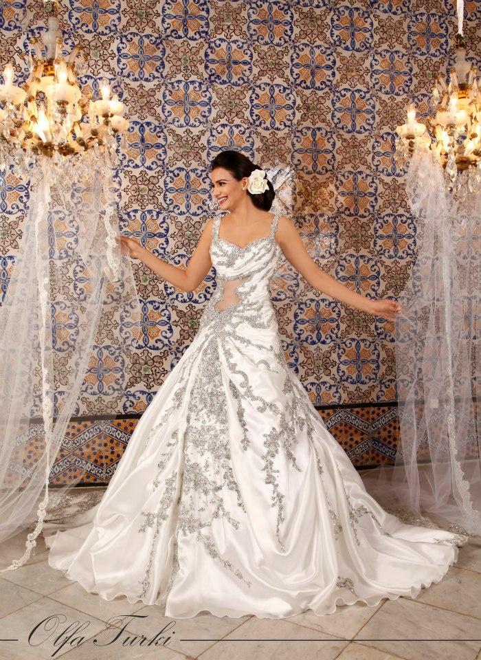 Wedding Dress by Olfa Turki Jedidi