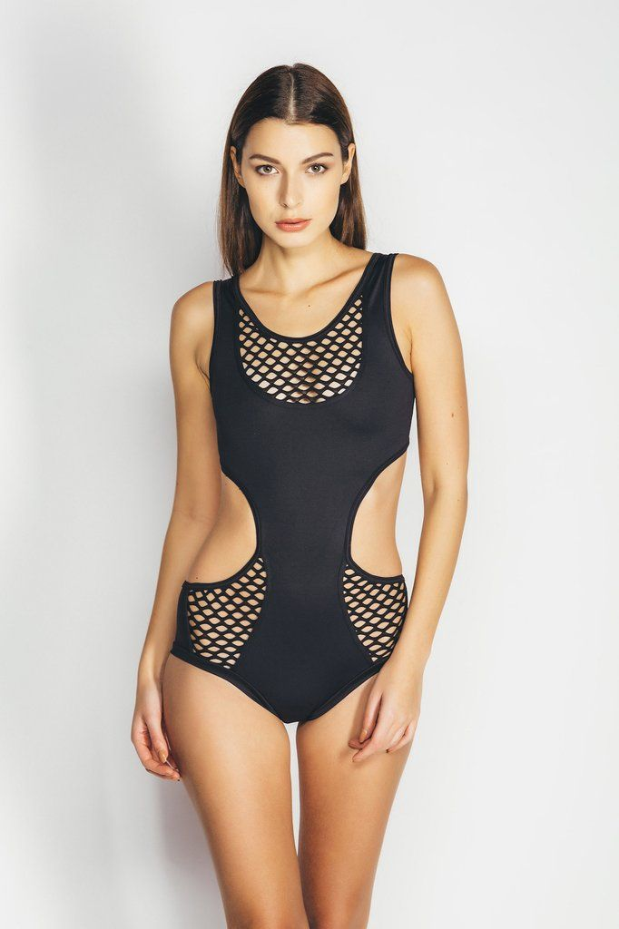 Alina Bodysuit - Black-MilaKrasna-Pole Junkie