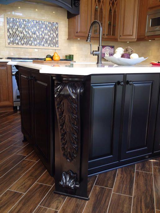 Unique Fullerton Cabinet and Stone
