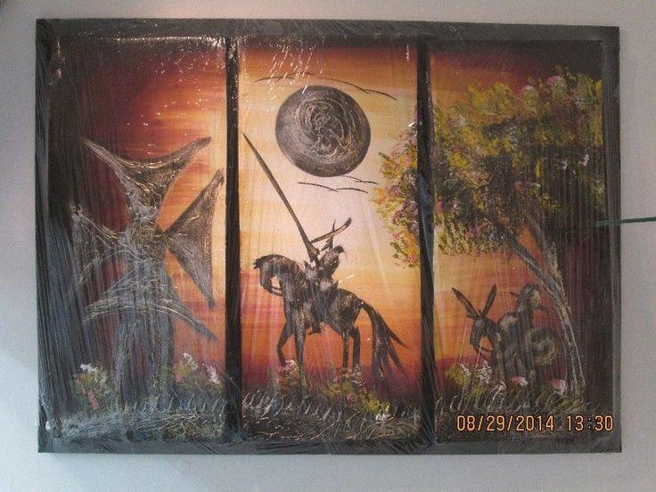 Pintura al óleo Don Quijote de la Mancha