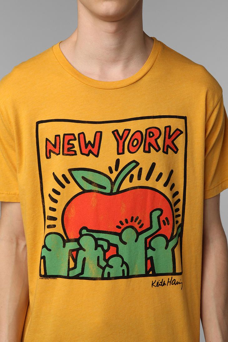 Junk Food Keith Haring New York Tee