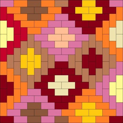 Quilt Patterns Squares And Rectangles : 1000+ images about Quilts from Squares and Rectangles on Pinterest Fat quarters, Square quilt ...