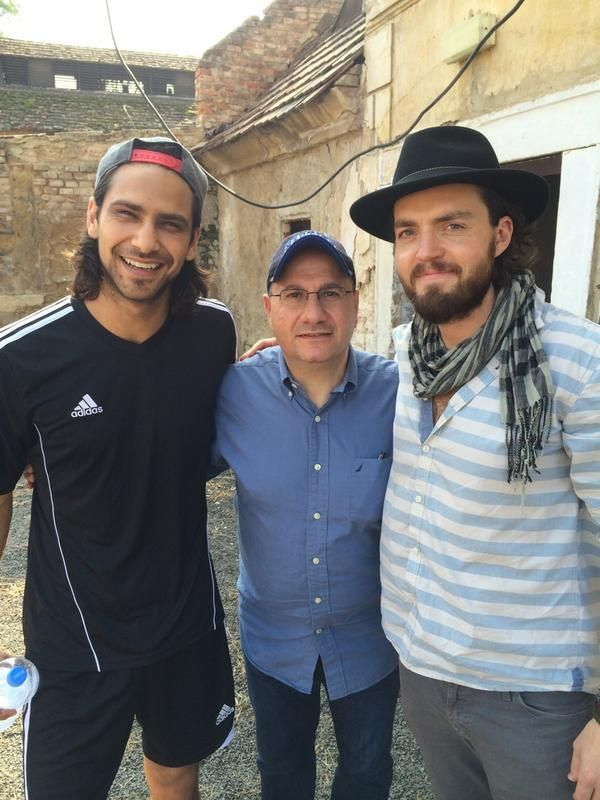 """The Musketeers - """"Just met and chatted to Luke Pasqualino & Tom Burke aka D'Artagnan & Athos."""" via https://twitter.com/TVChoice on twitter"""
