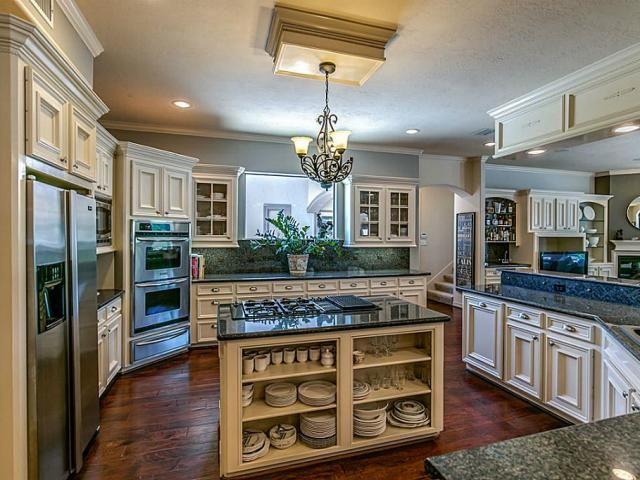 Beautiful kitchen! Love the island!  31019 Edgewater Dr, Magnolia Property Listing