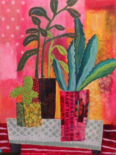 #stilllife#flowerpaintings#abstractflowerart-Annie O'Brien Gonzales