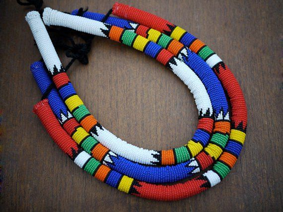 The 2 Bandits Zulu Necklace