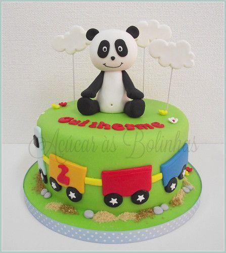 panda bear cake template - bolo panda e os amigos pesquisa google