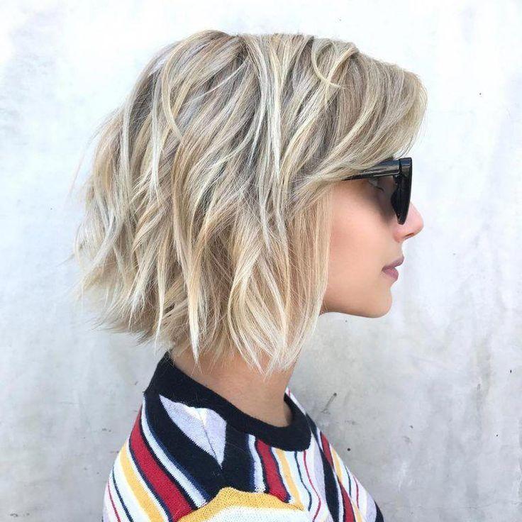 Beste einfache kurze Bob-Frisuren für dickes Haar, alltägliche Bob-Frisuren für Frauen # ... Weitere Informationen finden Sie auf kpsl.youareblabla ...
