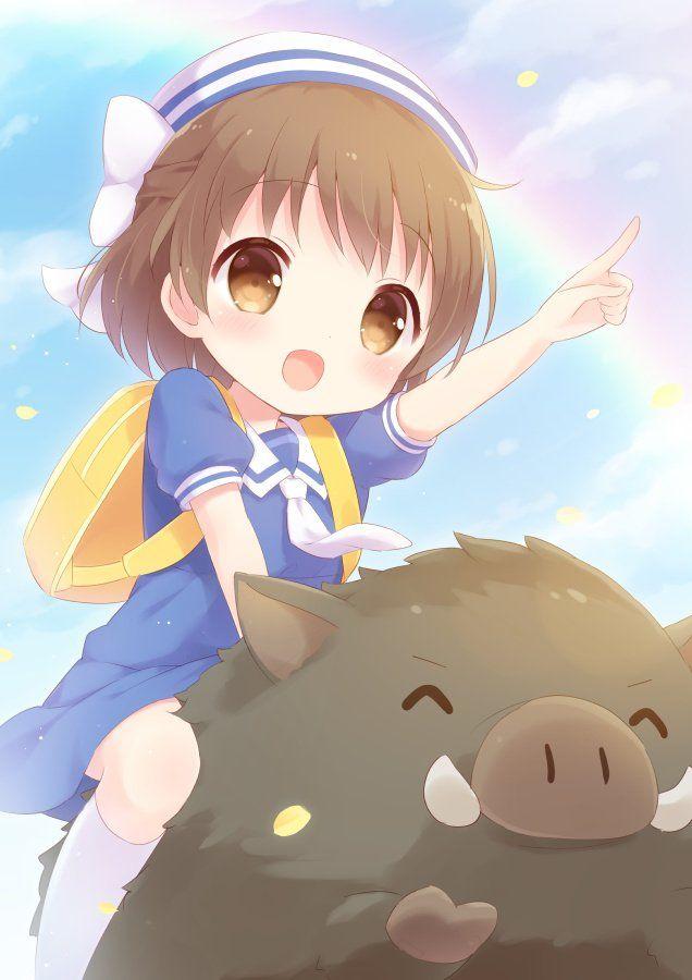 Ushio S Trusty Steed Botan Clannad Clannad Anime Anime Fanart