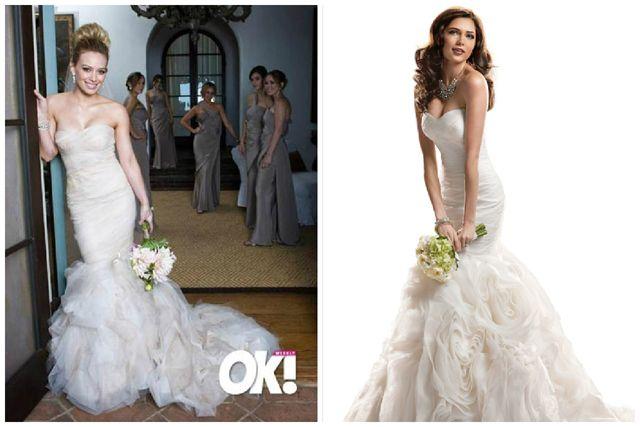 Hilary Duff Wedding Dress_Wedding Dresses_dressesss