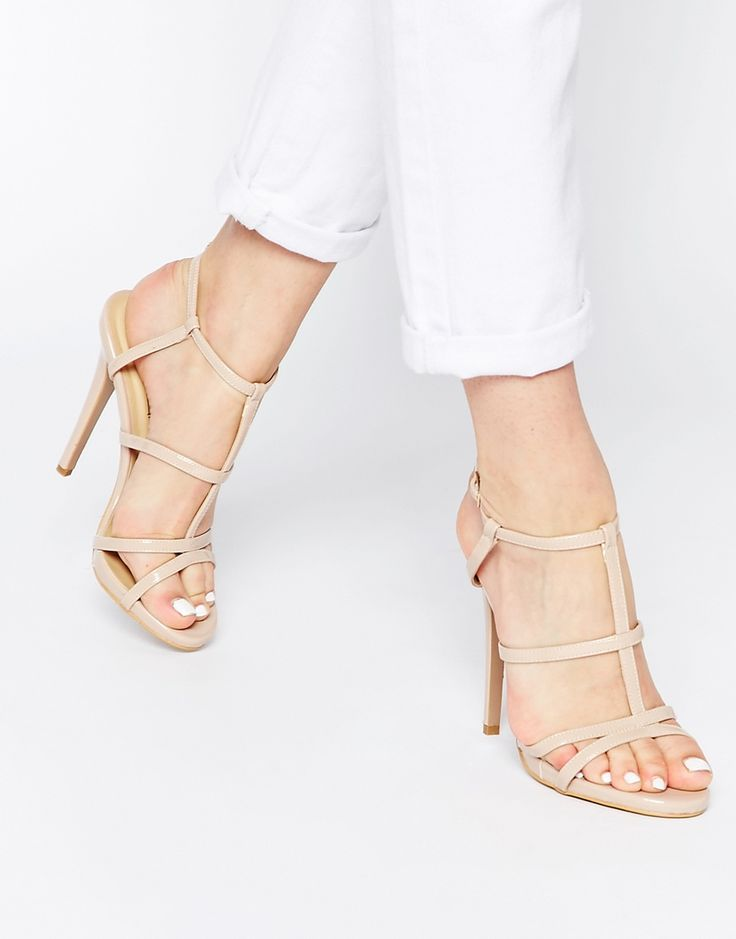 Image 1 ofTruffle Collection Rita Strappy Heeled Sandals