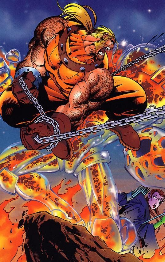 Thanks to Joe Madureira art and costume design in Age of Apocalypse I like this character even more: Sabretooth