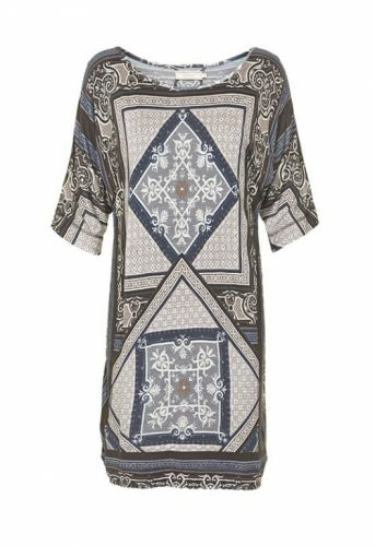 Cream Cassie Jersey Kaftan kjole Antracit - Kjoler/nederdele - MaMilla