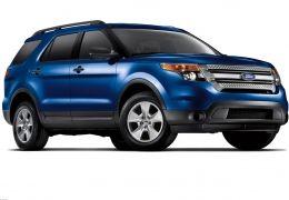 blue 2012 ford explorer