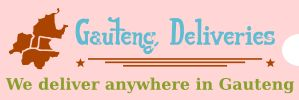 we delivery anywhere in gauteng