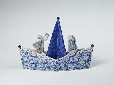 Sailboat by Helen Martino