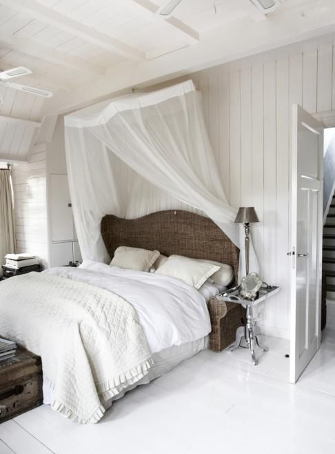 Attractive What A Beautiful White U0026 Romantic Bedroom
