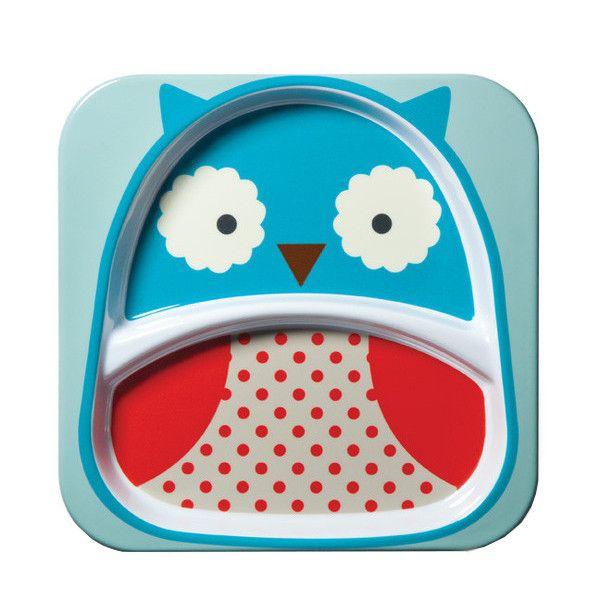 Skip Hop Plate - Owl