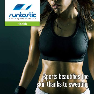Myth or Fact: Sports beautifies the skin thanks to sweating  Learn more here: http://www.runtastic.com/nutrition/nutrition-quiz/sports-beautifies-the-skin-thanks-to-sweating