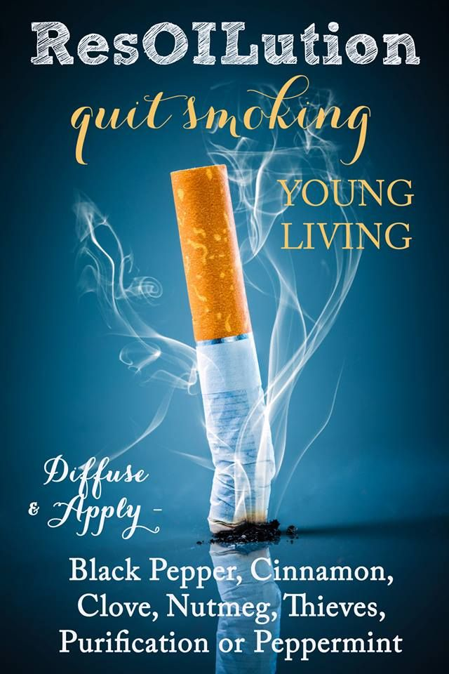 20 Best Quit Smoking Images On Pinterest Young Living