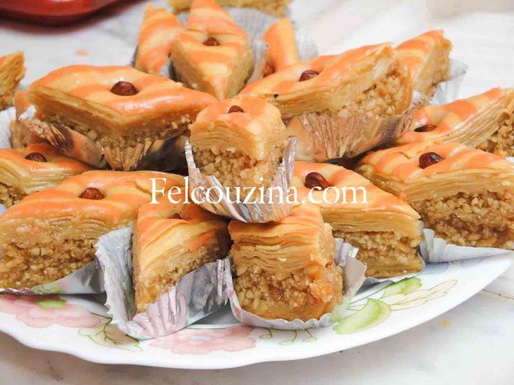 Recette de Baklawa maison, un gâteau traditionnel Algérien